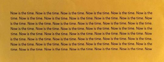 Now is the time.